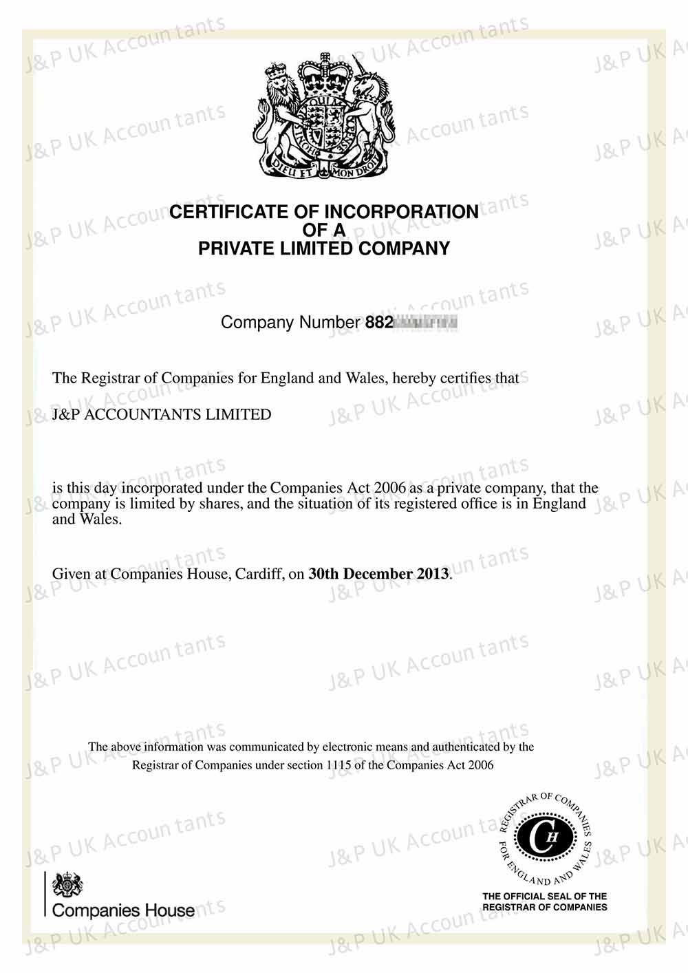 英國辦營業執照